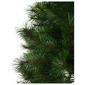 Árbol de Navidad 210 cm Slim verde modelo Alexander s3