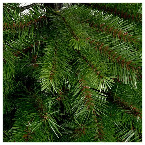 Árbol de Navidad 210 cm Slim verde modelo Alexander 2