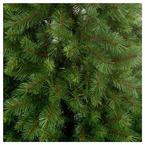 Árbol de Navidad 210 cm Slim verde modelo Alexander 4