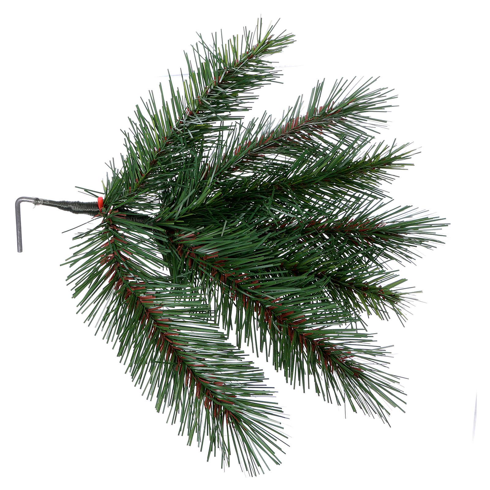 Albero di Natale 240 cm Slim verde modello Alexander 3