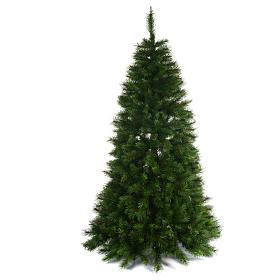 Albero di Natale 240 cm Slim verde modello Alexander s1