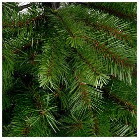 Albero di Natale 240 cm Slim verde modello Alexander s3