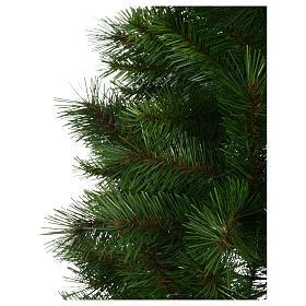 Albero di Natale 240 cm Slim verde modello Alexander s4