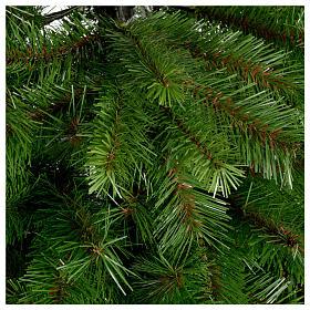 Albero di Natale 240 cm Slim verde modello Alexander s2
