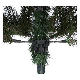 Albero di Natale 240 cm Slim verde modello Alexander s5