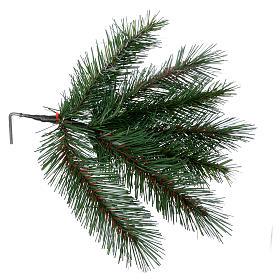 Albero di Natale 240 cm Slim verde modello Alexander s6