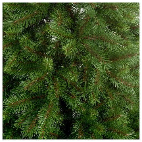 Albero di Natale 240 cm Slim verde modello Alexander 2