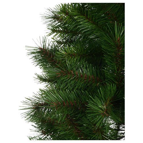 Albero di Natale 240 cm Slim verde modello Alexander 4