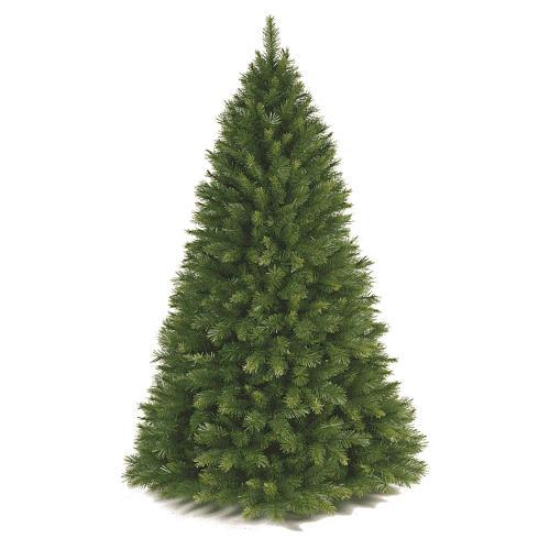Albero di Natale 240 cm Slim verde modello Alexander 1