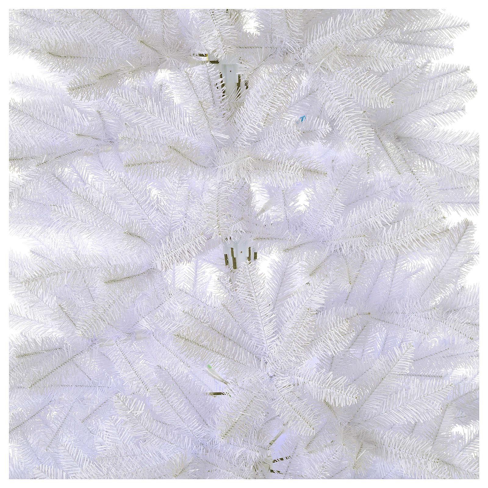 Christmas tree 180 cm Slim white Dunhill 3