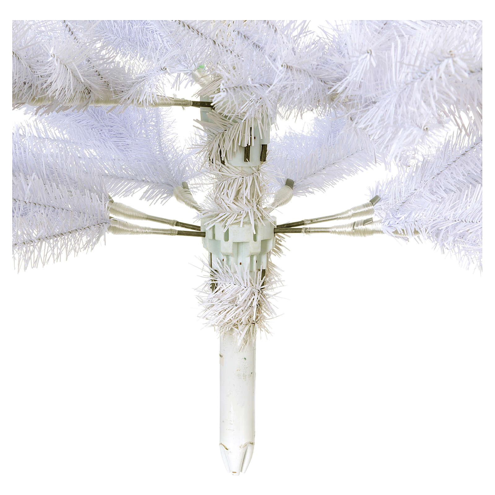 Árbol de Navidad 180 cm Slim blanco Dunhill 3