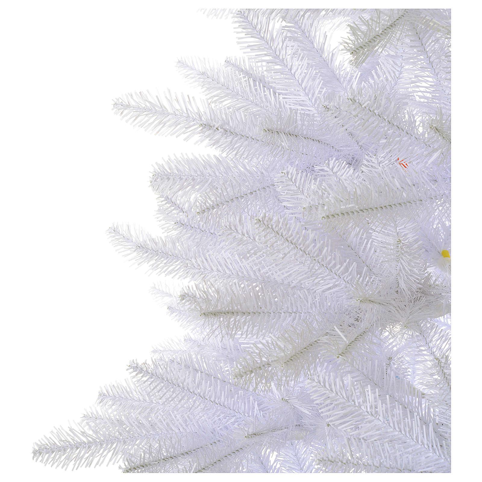Sapin Noël 180 cm Slim blanc Dunhill 3