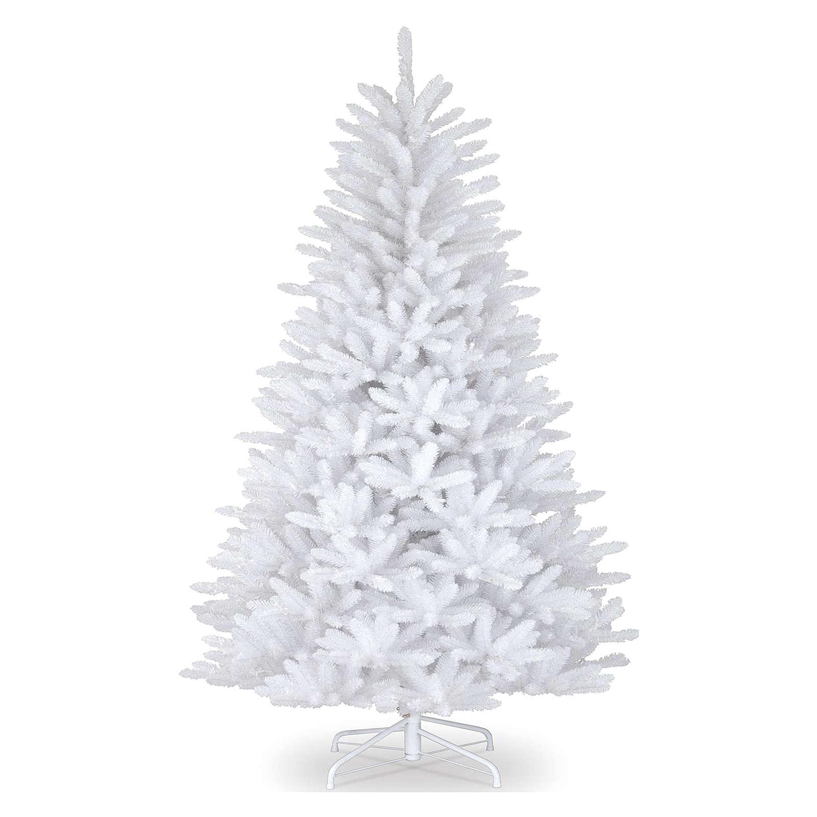 Foto Alberi Di Natale Bianchi albero di natale 180 cm slim bianco dunhill