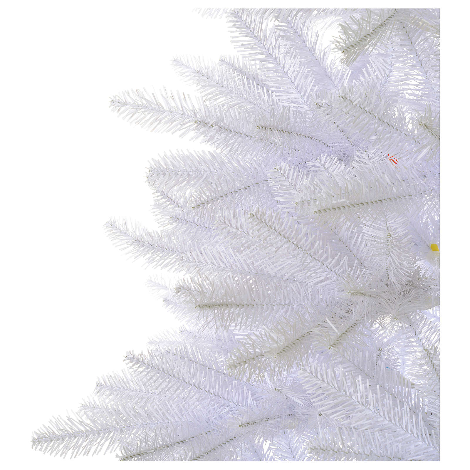 Sapin Noël 210 cm Slim couleur blanc Dunhill 3