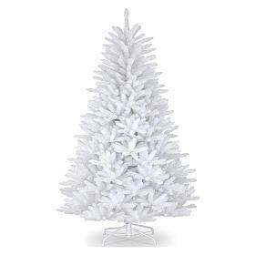 Sapin Noël 210 cm Slim couleur blanc Dunhill s1