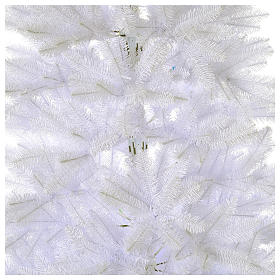 Sapin Noël 210 cm Slim couleur blanc Dunhill s2