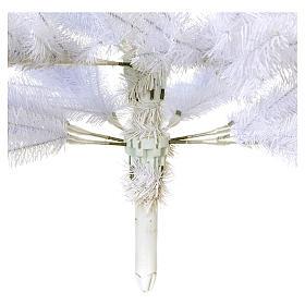Sapin Noël 210 cm Slim couleur blanc Dunhill s5