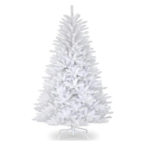 Sapin Noël 210 cm Slim couleur blanc Dunhill 1