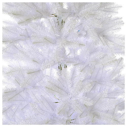 Sapin Noël 210 cm Slim couleur blanc Dunhill 2