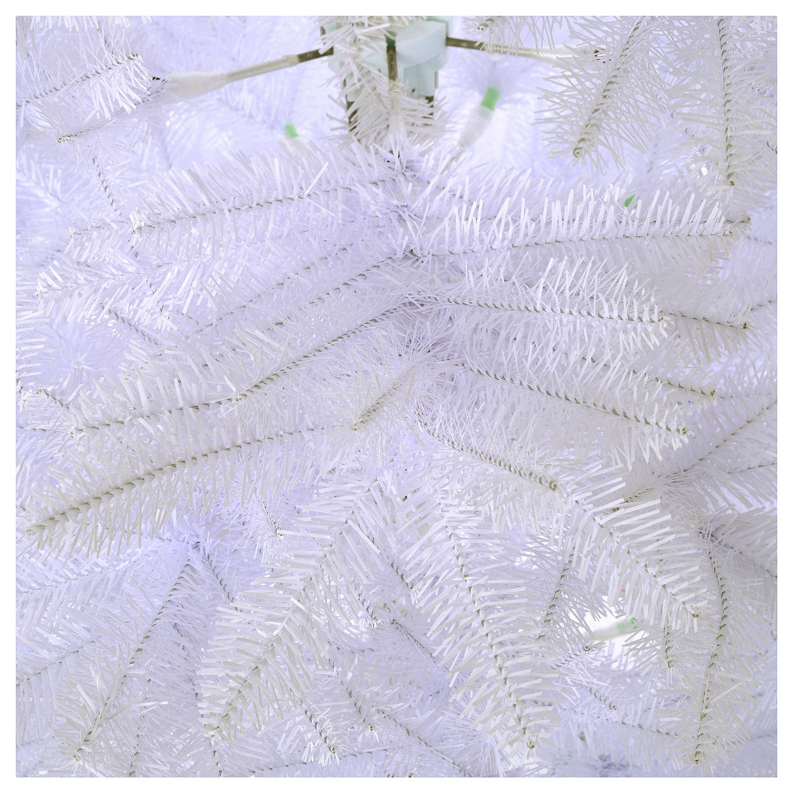 Albero di Natale 210 cm Slim bianco Dunhill 3