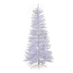 Albero di Natale 210 cm Slim bianco Dunhill s1