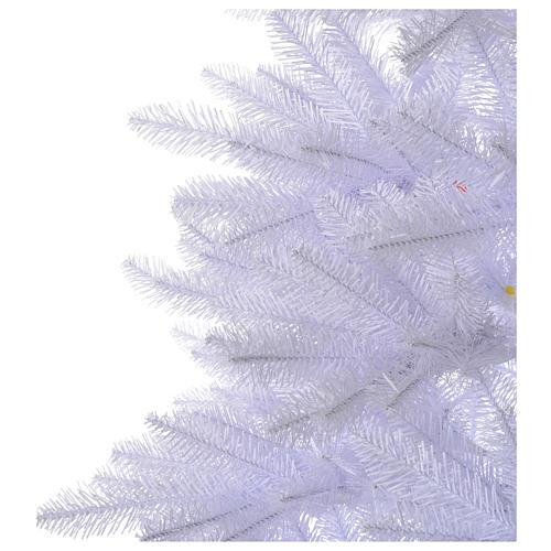 Albero di Natale 210 cm Slim bianco Dunhill 4
