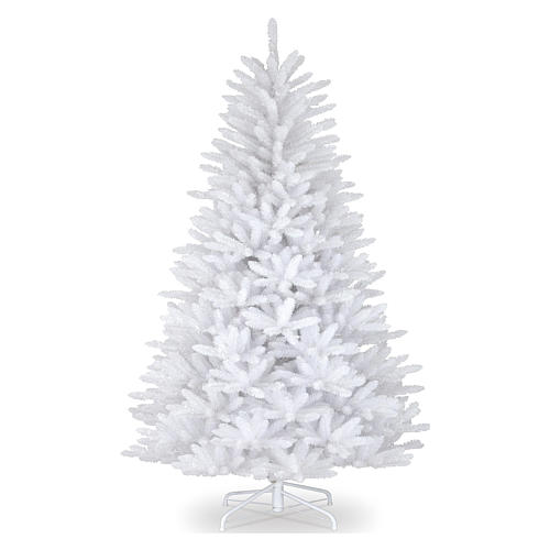 Albero di Natale 210 cm Slim bianco Dunhill 1