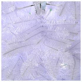 Albero di Natale 225 cm Slim bianco Dunhill s3