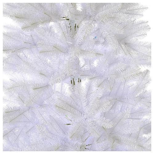Albero di Natale 225 cm Slim bianco Dunhill 2