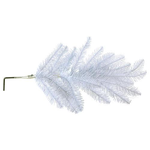 Albero di Natale 225 cm Slim bianco Dunhill 6