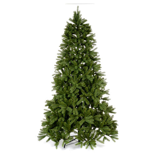 Albero di Natale 225 cm Poly verde Bayberry Spruce 1
