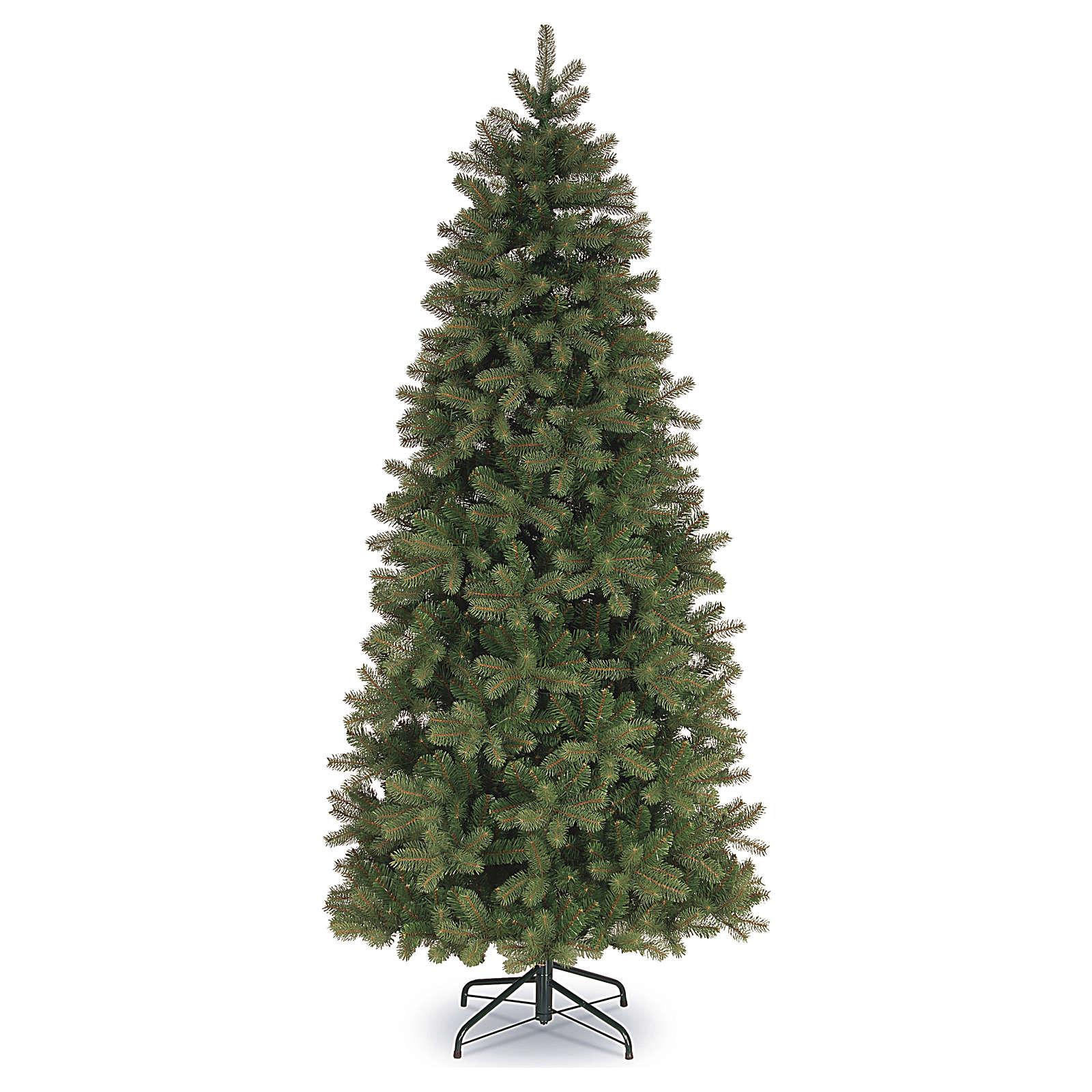 Foto Di Natale Albero.Albero Di Natale 210 Cm Poly Slim Feel Real Verde Bayberry S
