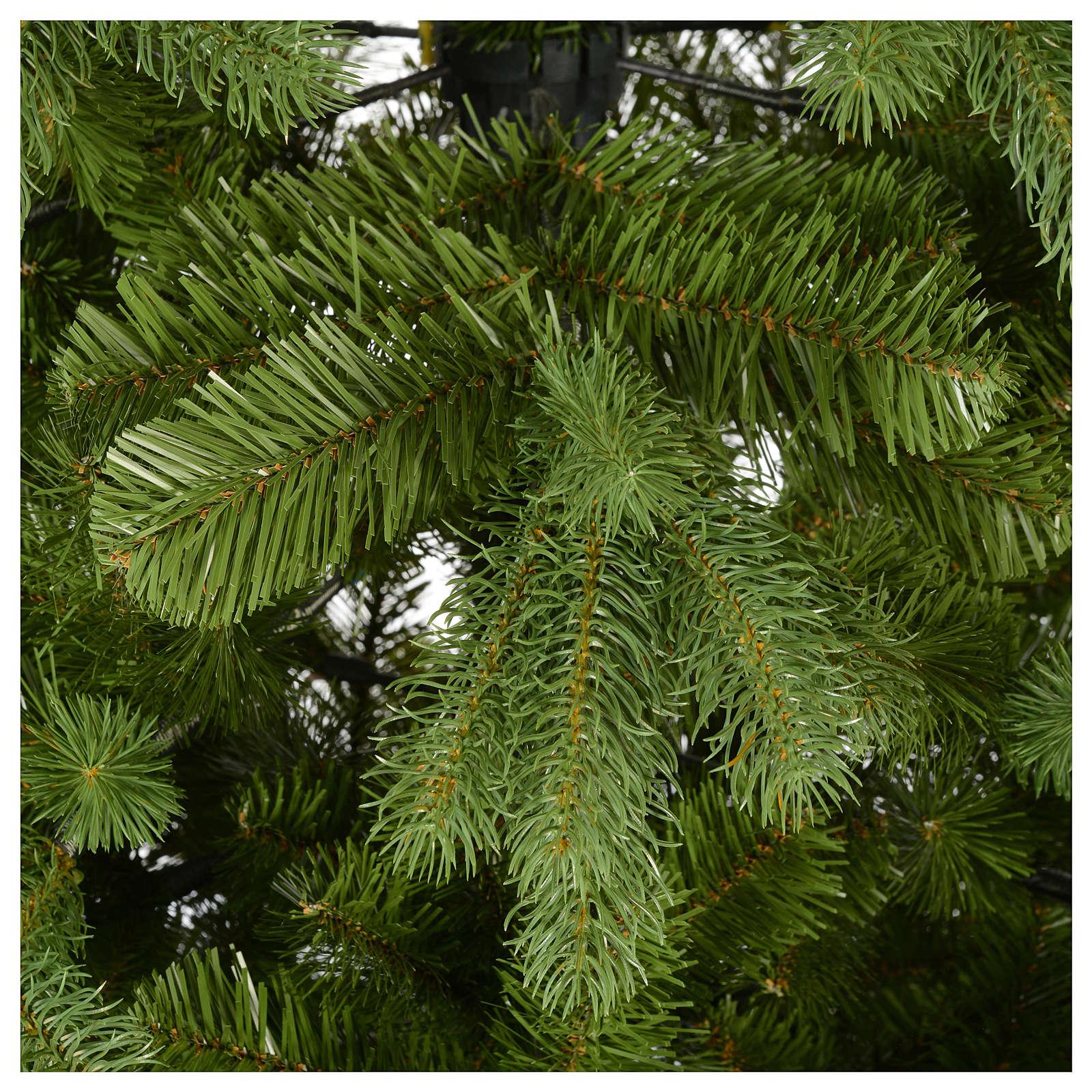 6718e7027 national tree company 7 12 ft feel real colonial slim hinged ...