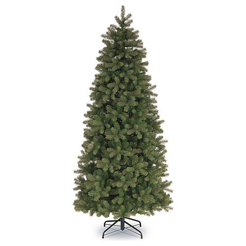 Albero di Natale 240 cm Poly Slim verde Bayberry Spruce 1