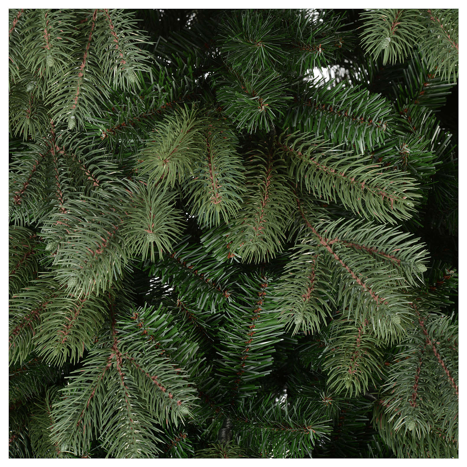 Árbol de Navidad 210 cm verde Poly Colorado Spruce 3