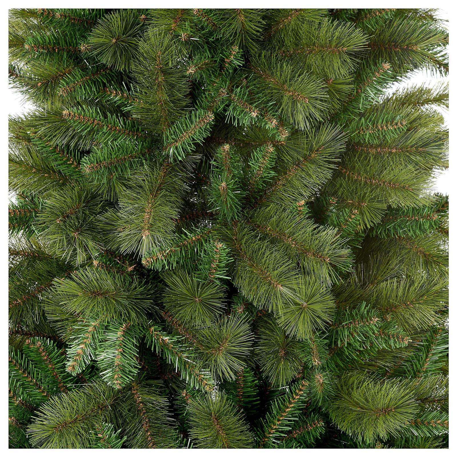 Albero di Natale 180 cm Slim verde pvc Rocky Ridge 3