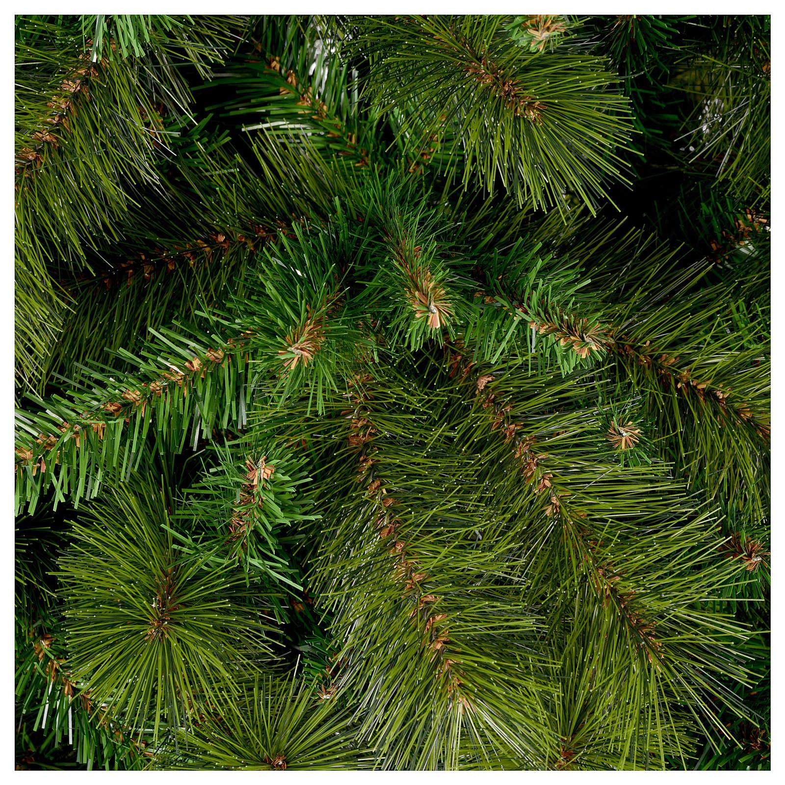 Christmas Tree Garden Ridge: Christmas Tree 210 Cm Slim Green Pvc Rocky Ridge