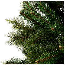 Albero di Natale 210 cm verde pvc Slim Rocky Ridge s3
