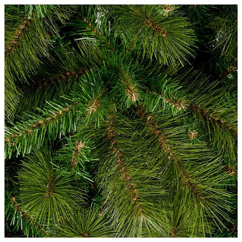 Albero di Natale 210 cm verde pvc Slim Rocky Ridge 2