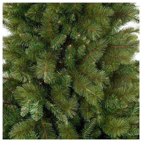 Albero di Natale 210 cm verde pvc Slim Rocky Ridge 4