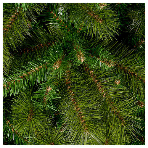 Árbol de Navidad 225 cm pvc verde Slim Rocky Ridge 2