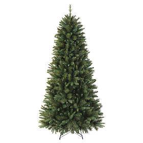 Sapin Noël 225 cm pvc vert Slim Rocky Ridge s1