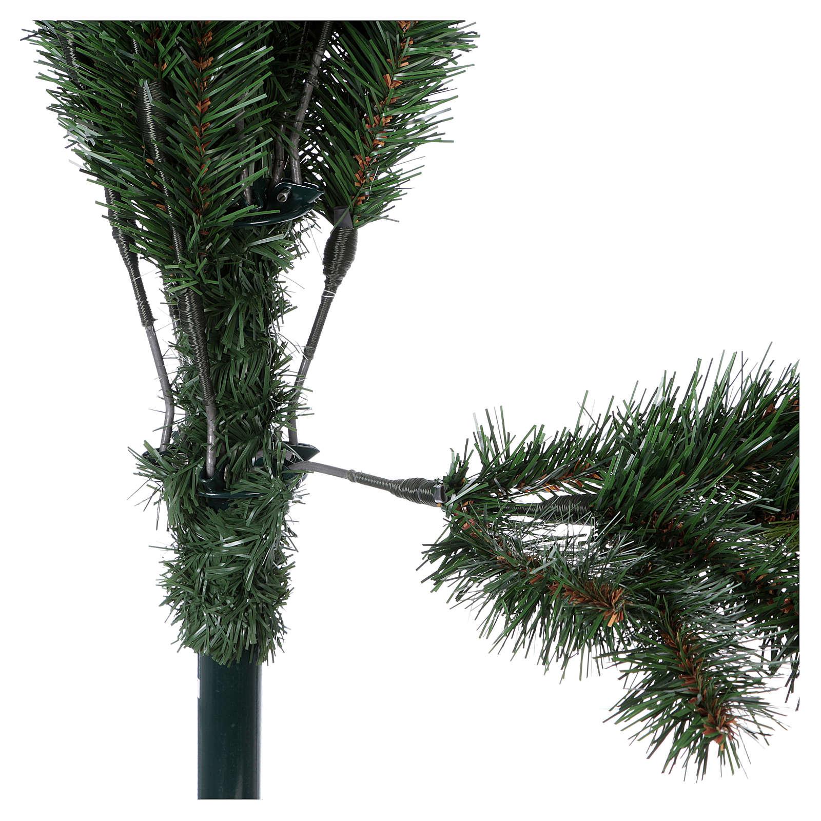 Albero di Natale 225 cm pvc verde Slim Rocky Ridge 3