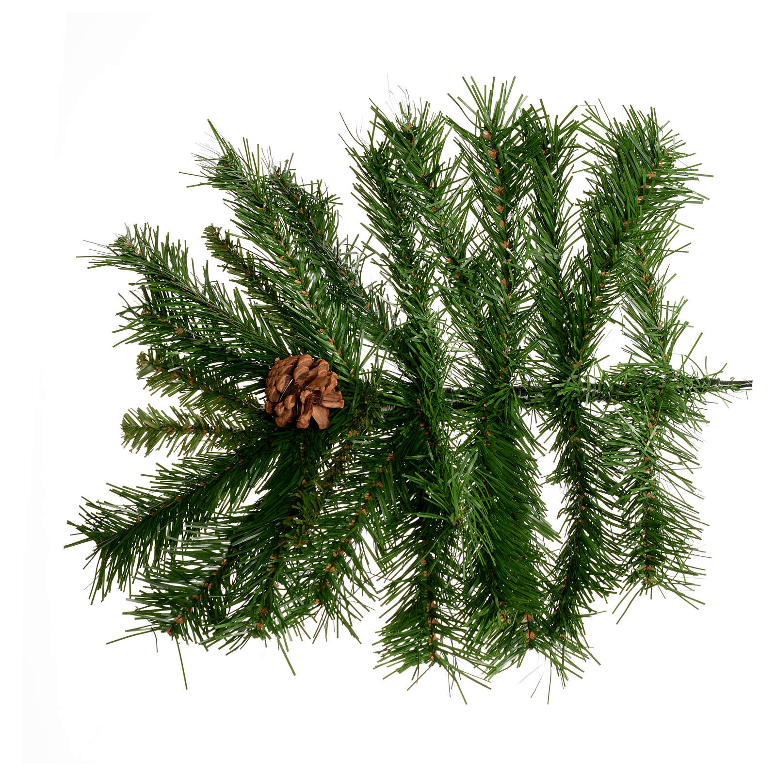 Albero di Natale Praga pigne 270 cm verde 3