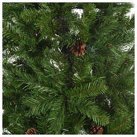 Sapin de Noël 210 cm couleur vert Slim Tallin s2