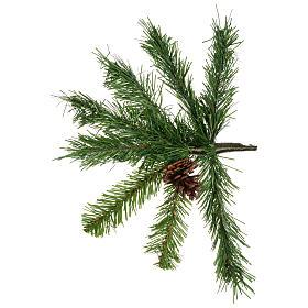 Sapin de Noël 210 cm couleur vert Slim Tallin s3