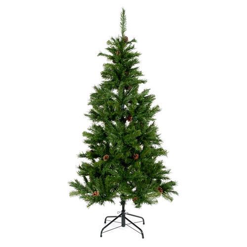 Sapin de Noël 210 cm couleur vert Slim Tallin 1