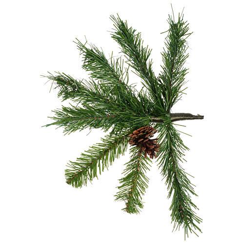 Sapin de Noël 210 cm couleur vert Slim Tallin 3
