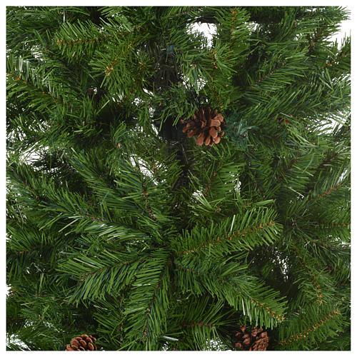 Sapin de Noël 230 cm vert modèle Slim Tallin 2