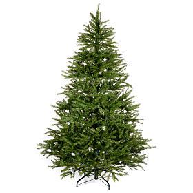 Albero di Natale 210 cm verde Aosta s1